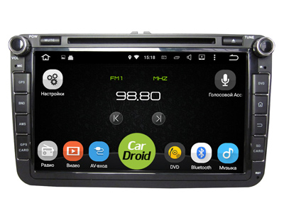 Roximo CarDroid RD-3701-DSP для Skoda Series